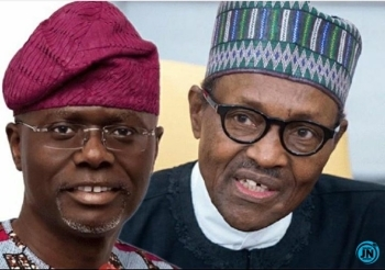 Gov. Sanwo-Olu Savagely Replies A Lady Who Asked Him To Summarize Pres. Buhari's Speech (Photo)